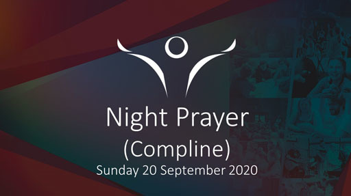 Night Prayer (Compline) via Zoom