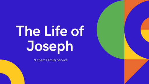 9.15am Family Service, live streamed