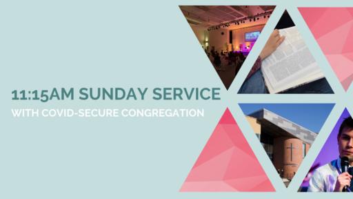 11.15 Sunday service