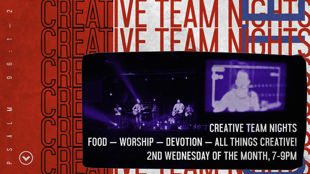 Moved online - Creative: All Team Night