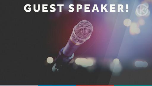 Guest Speaker: John Groves