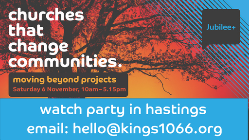 Jubilee+ Churches That Change Communities Watch Party