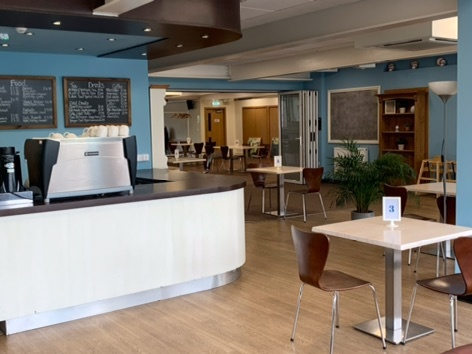 Upper Room Cafe re-opens!